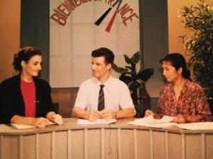Présentation d'un programme d'enseignement du français en Chine, 1992
