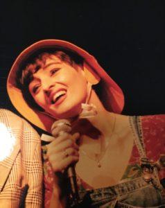 Café-théâtre, Paris, 1993