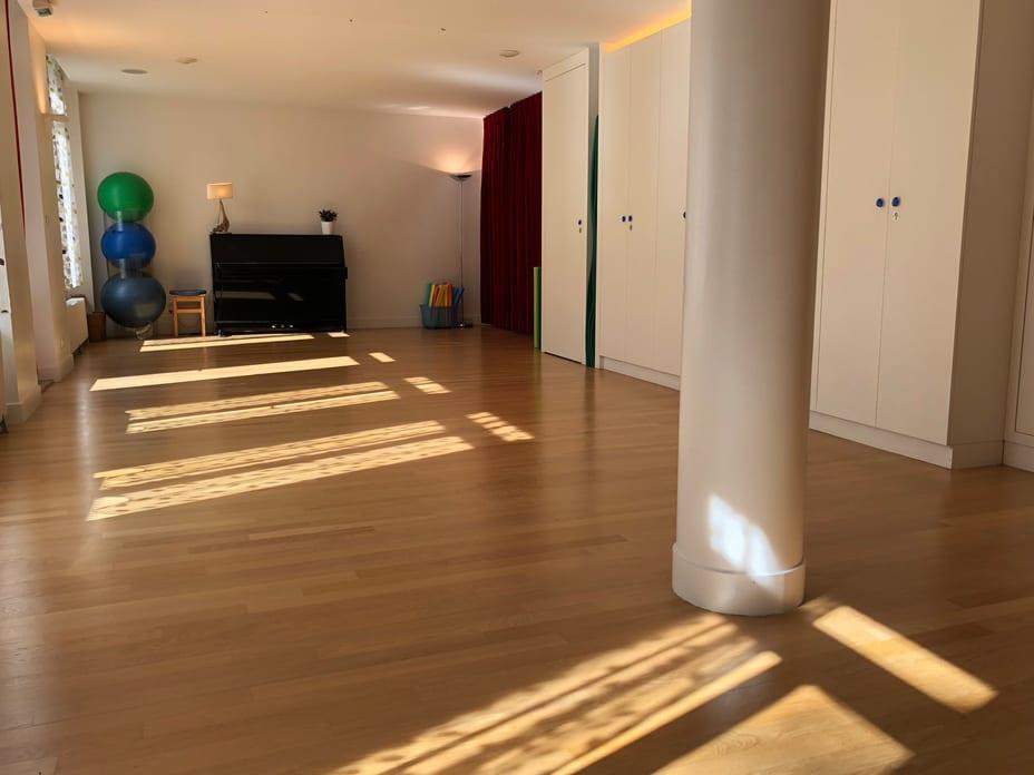 salle a louer yoga qi gong paris alesia